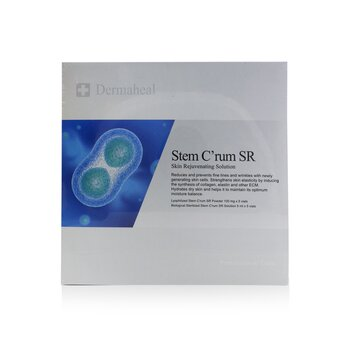 Stem C'rum SR Skin Rejuvenating Solution  5 Applications