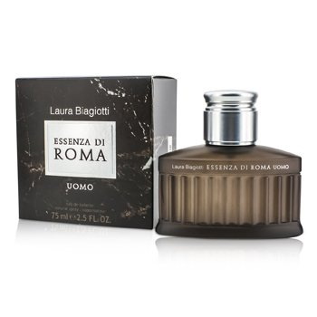 Laura Biagiotti Essenza Di Roma Uomo Eau De Toilette Spray.  75ml/2.5oz