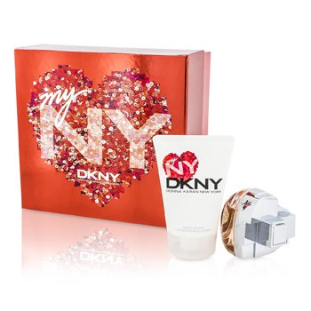 My NY The Heart Of The City Coffret: Eau De Parfum Spray 50ml/1.7oz + Body Lotion 100ml/3.4oz  2pcs