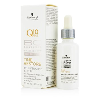 Schwarzkopf BC Time Restore Q10 Plus Rejuvenating Suero (Para Cabello Maduro y Fr�gil)  30ml/1.01oz
