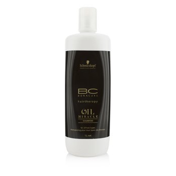 Schwarzkopf BC Oil Miracle Shampoo (For All Hair Types)  1000ml/33.8oz