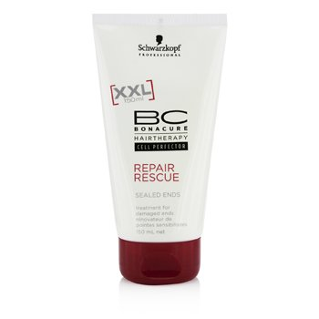 Schwarzkopf BC Repair Rescue Sealed Ends Treatment - For Damaged Ends (New Packaging)  150ml/5oz