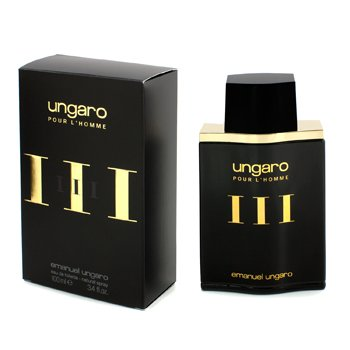 Ungaro Pour L'Homme III Eau De Toilette Spray (New Packaging)  100ml/3.4oz