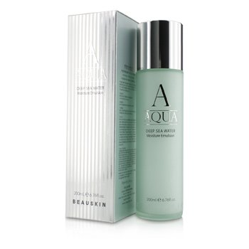 BEAUSKIN Aqua Deep Sea Water Moisture Emulsion  200ml/6.76oz