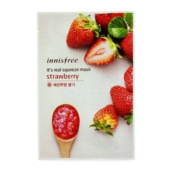 Innisfree It's Real Squeeze Mască - Strawberry  10pcs