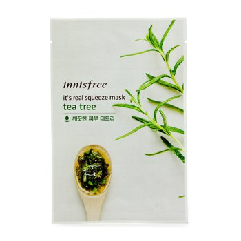 Innisfree It's Real Squeeze Mask - Tea Tree  10pcs