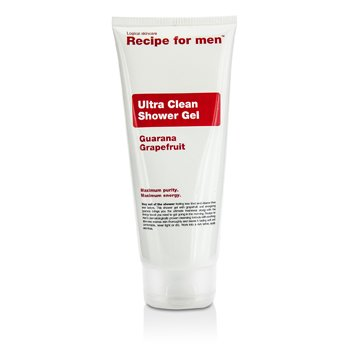 Recipe For Men Gel de Duș Foarte Curat  200ml/6.7oz