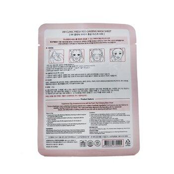 Mask Sheet - Fresh Red Ginseng  10pcs