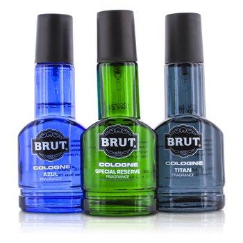 Brut Coffret: Three Assorted Eau De Cologne Spray (Glass Bottles) (Limited Edition) 3x30ml/1oz