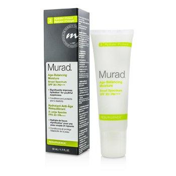 Murad Humectante Balance Edad Espectro Amplio Con SPF 30  50ml/1.7oz