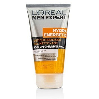 L'Oreal Men Expert Hydra Energetic Wake-Up Boost Cleansing Gel  150ml/5oz