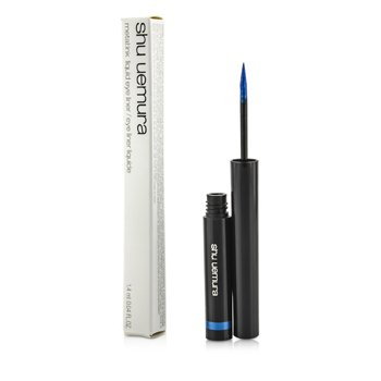 Shu Uemura Metal Ink Liquid Eye Liner - #Me Blue  1.4ml/0.04oz