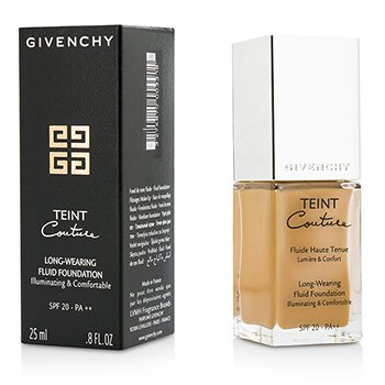 Givenchy Base Teint Couture Long Wear Fluid Foundation SPF20 - # 8 Elegant Amber  25ml/0.8oz