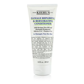 Kiehl's Damage Repairing & Rehydrating Conditioner (For Damaged, Very Dry Hair)  200ml/6.8oz
