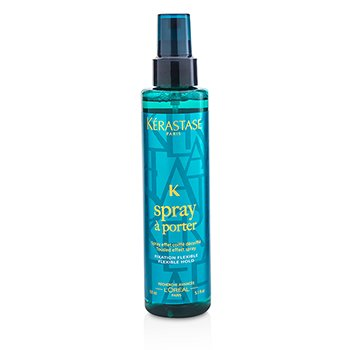卡詩  Styling Spray A Porter Tousted Effect Spray (Fixation Flexible, Flexible Hold)  150ml/5.1oz