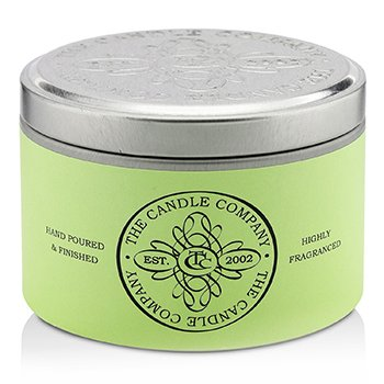 The Candle Company Tin Can Highly Fragranced Candle - Ginger Lily  (1.5x3) inch