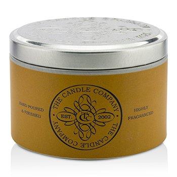 The Candle Company  Vysoko aromatická sviečka v plechovej dóze  – Santalové drevo  (1.5x3) inch