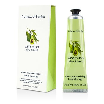 Crabtree & Evelyn Avocado, Olive & Basil Ultra-Moisturising Hand Therapy  50g/1.8oz