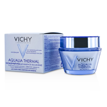 Vichy Aqualia Thermal Dynamic Hydration Rich Cream - For Dry To Very Dry Skin  50ml/1.7oz