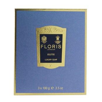 Elite Luxury Soap 3x100g/3.5oz
