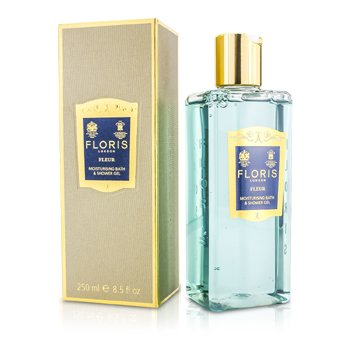 Floris Fleur Moisturising Bath & Shower Gel  250ml/8.5oz