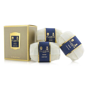 Cefiro Luxury Soap  3x100g/3.5oz