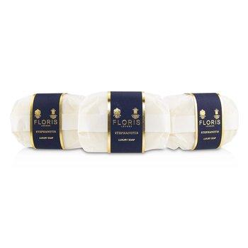 Luksusowe mydełko do ciała Stephanotis Luxury Soap  3x100g/3.5oz