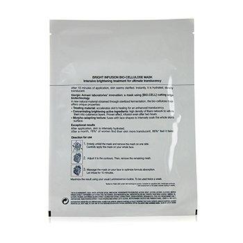 Luminessence Bright Infusion Bio-Cellulose Mask 6x14ml/0.47oz