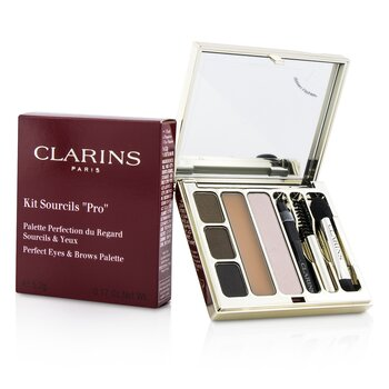 Clarins Paleta cieni do makijażu brwi i oczu Kit Sourcils Pro Perfect Eyes & Brows Palette  5.2g/0.17oz