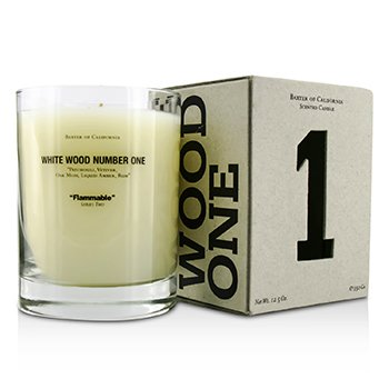 Scented Candles - White Wood One  350g/12.5oz