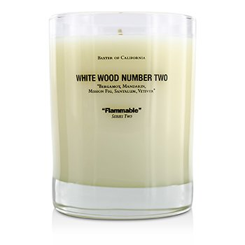 Scented Candles - White Wood Two  350g/12.5oz