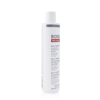Professional Strength Bos Renew Scalp Micro-Dermabrasion Booster - Step 2 (For All Hair Types)  300ml/10.1oz