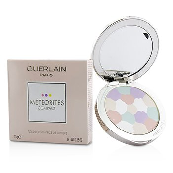 Guerlain Meteorites Compact Light Revealing Powder - # 2 Clair/Light Gir sansene en delikat, fiolduft| 10g/0.35oz