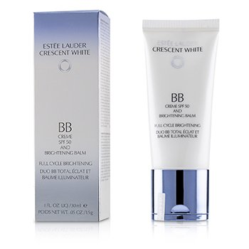 Estee Lauder Crescent White Full Cycle Brightening BB Creme & Brightening Balm SPF 50/PA++++  30ml/1oz