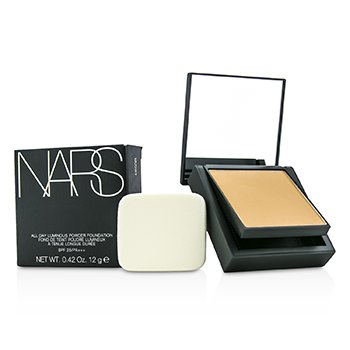 NARS All Day Luminous Powder Foundation SPF25 - Barcelona (Medium 4 srednja sa zlatnim breskva podtonovima)  12g/0.42oz