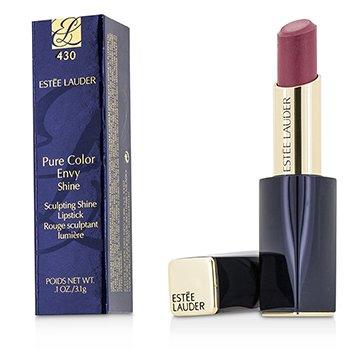 Estee Lauder Pure Color Envy Shine Sculpting Shine Lipstick - #430 Pink Dragon  3.1g/0.1oz