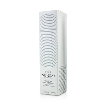 Sensai Silky Purifying Mud Soap - Wash & Mask (New Packaging)  125ml/4.3oz