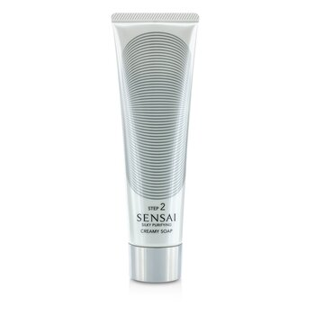 Kanebo Sensai Silky Purifying Creamy Soap (New Packaging)  125ml/4.3oz