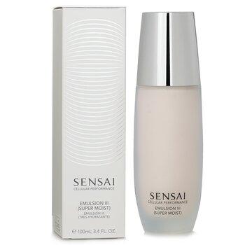 Sensai Cellular Performance Emulsion III - Super Moist (New Packaging)  100ml/3.4oz