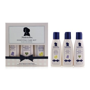 Essential Care Kit: Body Wash 59ml/2oz + Shampoo 59ml/2oz + Lotion 59ml/2oz  3pcs