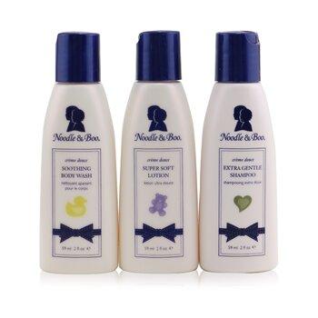 Essential Care Kit: Body Wash 59ml/2oz + Shampoo 59ml/2oz + Lotion 59ml/2oz 3pcs