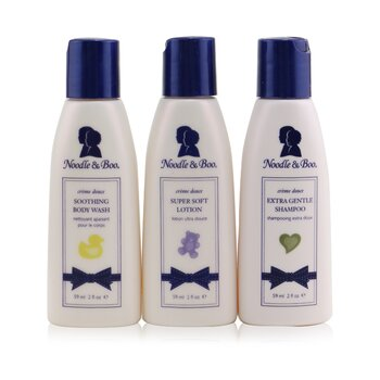Noodle & Boo Essential Care Kit: Body Wash 59ml/2oz + Shampoo 59ml/2oz + Lotion 59ml/2oz  3pcs