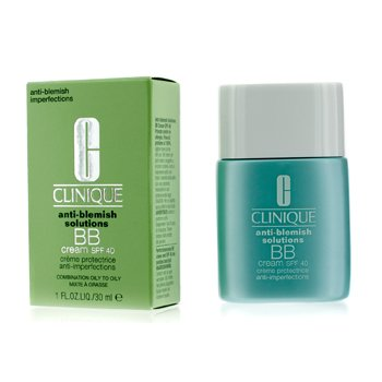 Clinique Anti-Blemish Solutions Crema BB Con SPF 40 - Medium Deep (Mixta Grasa a Grasa)  30ml/1oz