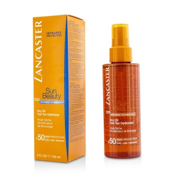 Sun Beauty Dry Oil Fast Tan Optimizer SPF50  150ml/5oz