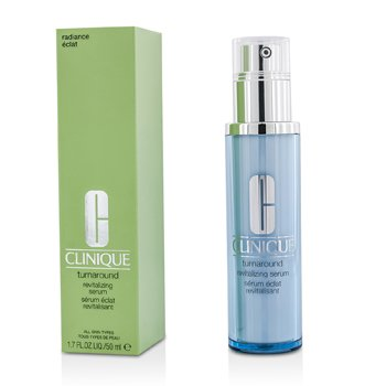 Clinique Serum rewitalizujące na noc Turnaround Revitalizing Serum  50ml/1.7oz