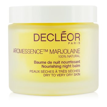 Decleor Aromessence Marjolaine Nourishing Night Balm (Dry to Very Dry Skin, Salon Size)  100ml/3.1oz