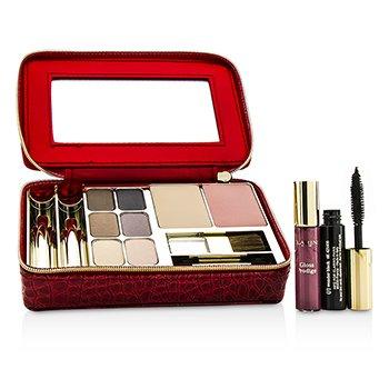 Make Up Vanity Palette: 1xPowder Compact + 1xBlush + 6xEye Shadows + 1xMini Mascara + 1xMini Lip Glo  -