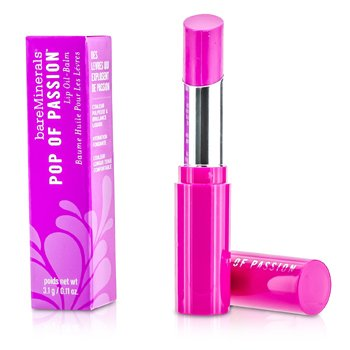BareMinerals Pop Of Passion Lip Oil Balm - Candy Pop  3.1g/0.11oz