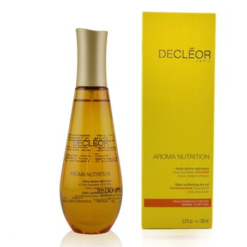 Aroma Nutrition Satin Softening Dry Oil For Body, Face & Hair - For Normal To Dry Skin 100ml/3.3oz