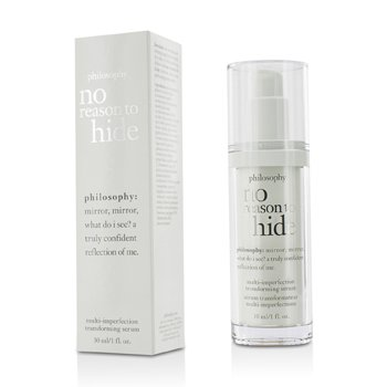 פילוסופי No Reason To Hide Multi-imperfection Transforming Serum - סרום למולטי-פגמים  30ml/1oz